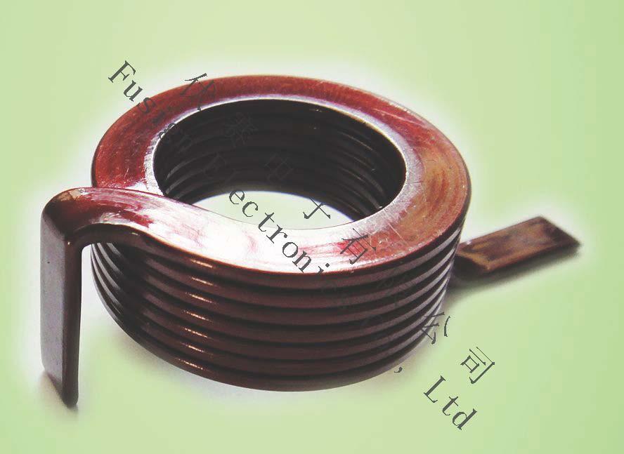 Flat Coil Transformer Inductor Coil Ferrite Core